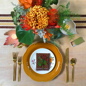 Thanksgiving Ribbon & Fabric Embellishment DIYs with Waverly Inspirations
