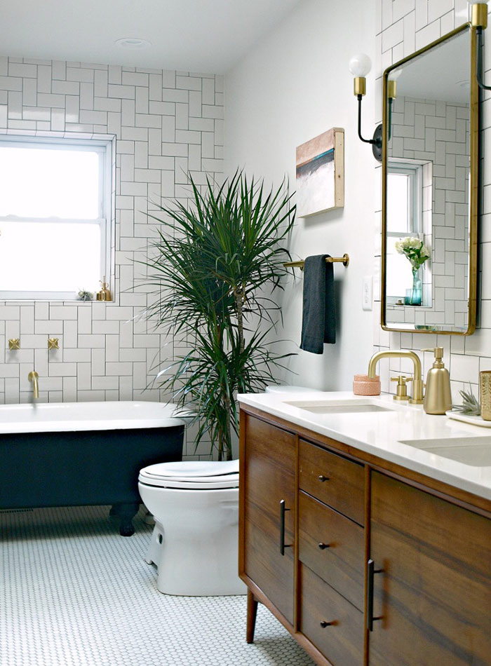 Before After A Modern WheelchairAccessible Bathroom DesignSponge - Webb bathroom remodeling