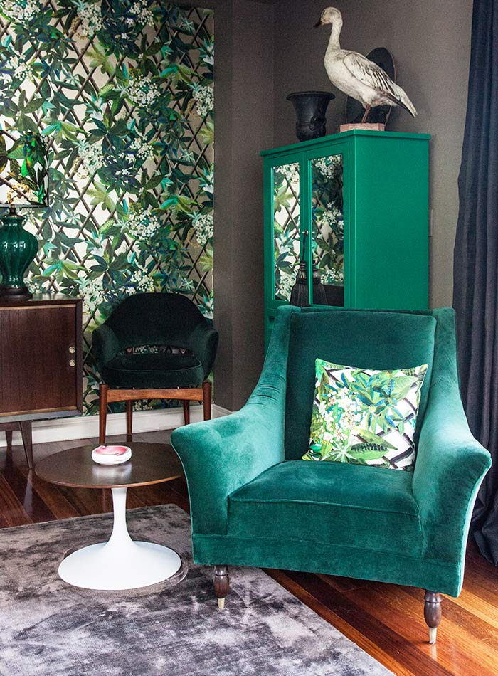 In Mexico, a Masterclass in Wallpaper and Bold Color, Design*Sponge