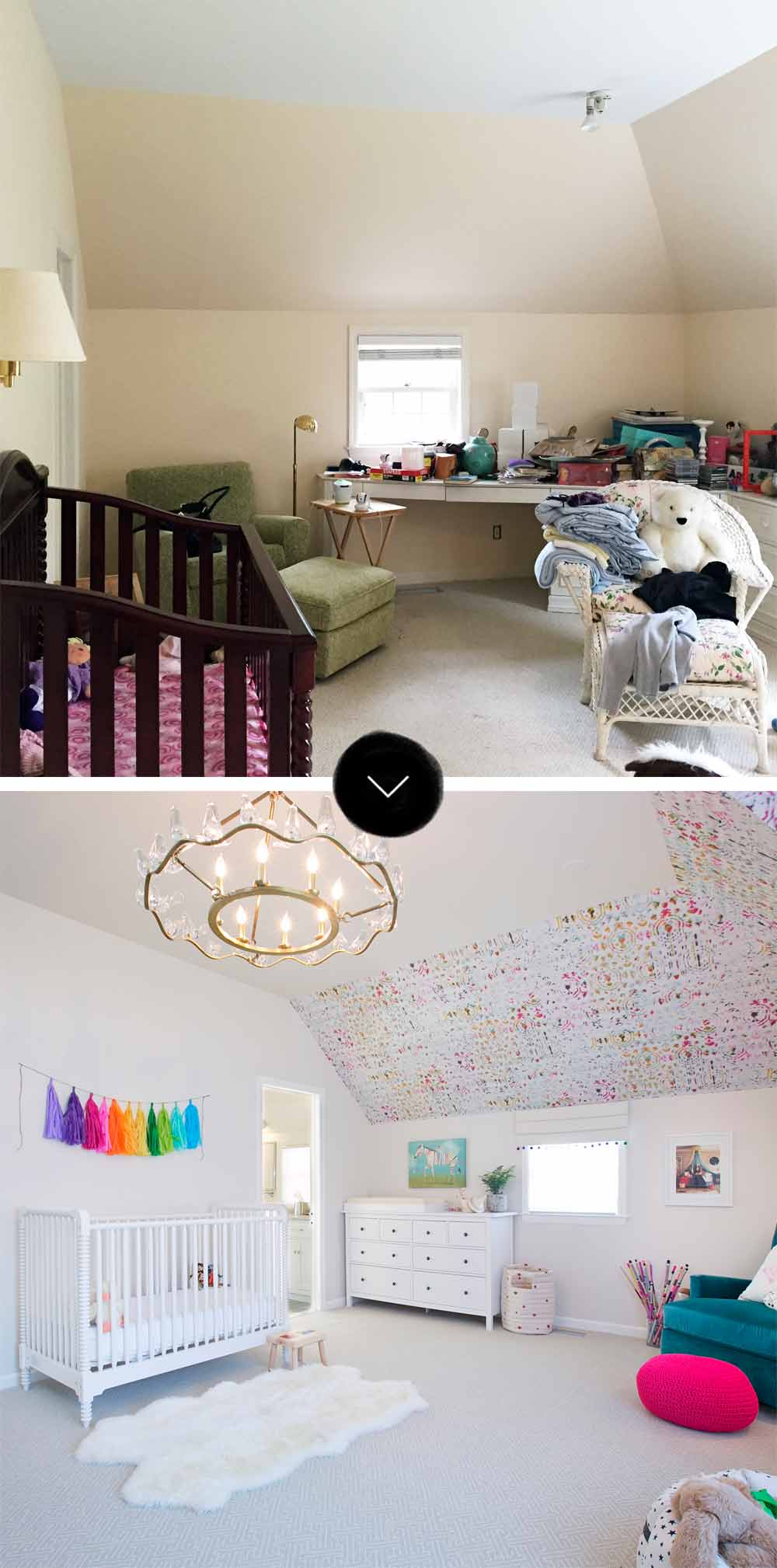 Before & After: A Modern Multigenerational Family Home in Scarsdale, on Design*Sponge