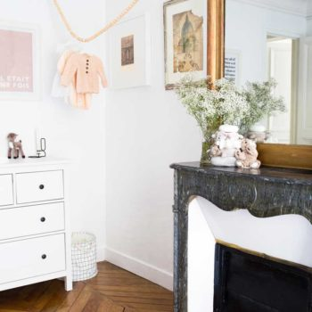 Before & After: A Designer's Studio Turned Nursery in a Parisian Apartment