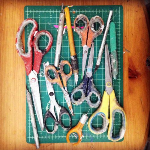 What's In Your Toolbox: Maria Berrio, on Design*Sponge