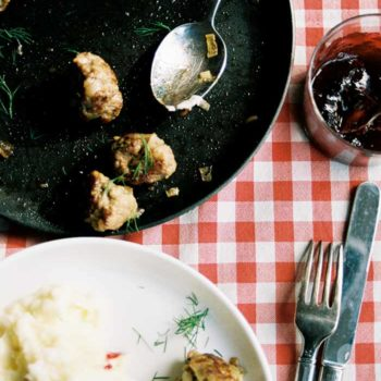 In the Kitchen With: Ruby Tandoh's Meatballs with Sticky Blackberry-Anise Sauce