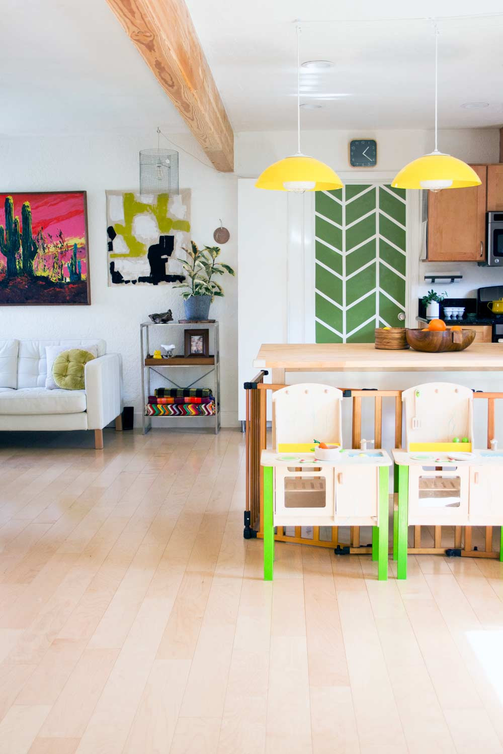 A Golden Modern Playhouse in Sacramento, on Design*Sponge