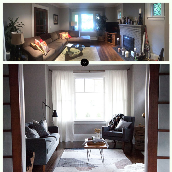 A Before-And-After View Of This Ontario Country Home On Design*Sponge