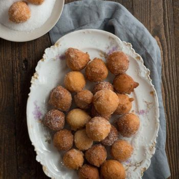 In the Kitchen With: Italian Doughnut Holes
