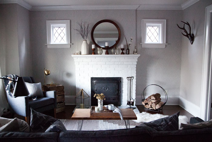 Justin And Marcella's Living Room Makeover Is Elegant And Cozy On Design*Sponge
