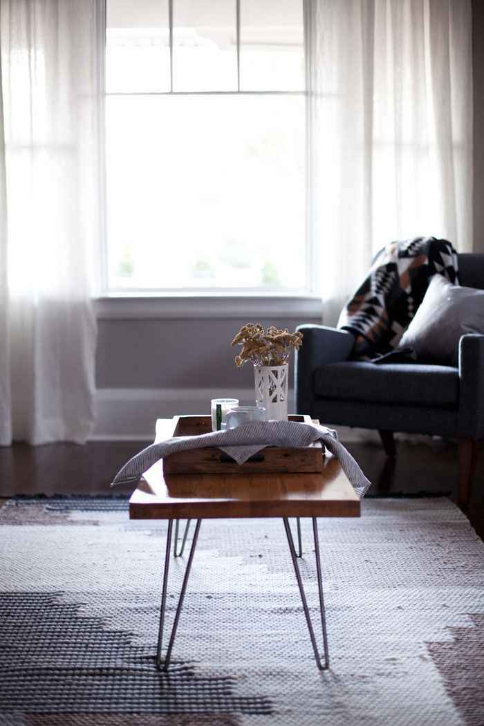 A DIY Table From The Couple's City Dwelling Days Looks Right At Home In The Country On Design*Sponge