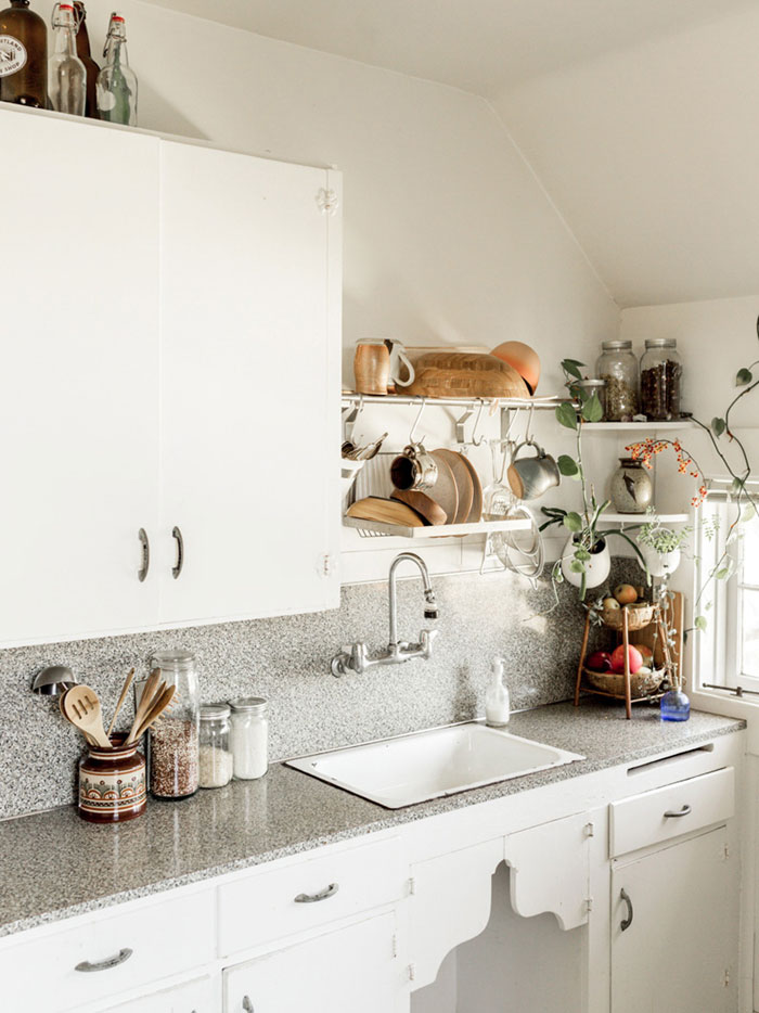 Sarah's Small But Functional Portland Kitchen On Design*Sponge