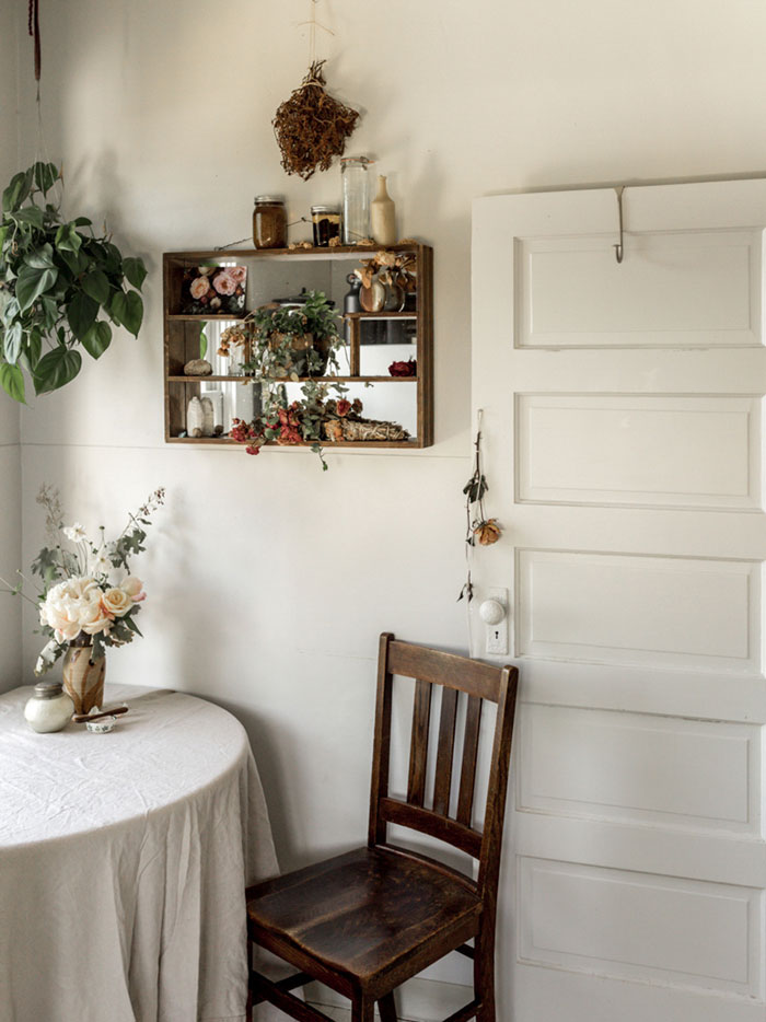 Sarah's Dining Nook Is A Great Place For Work Or Comfort On Design*Sponge