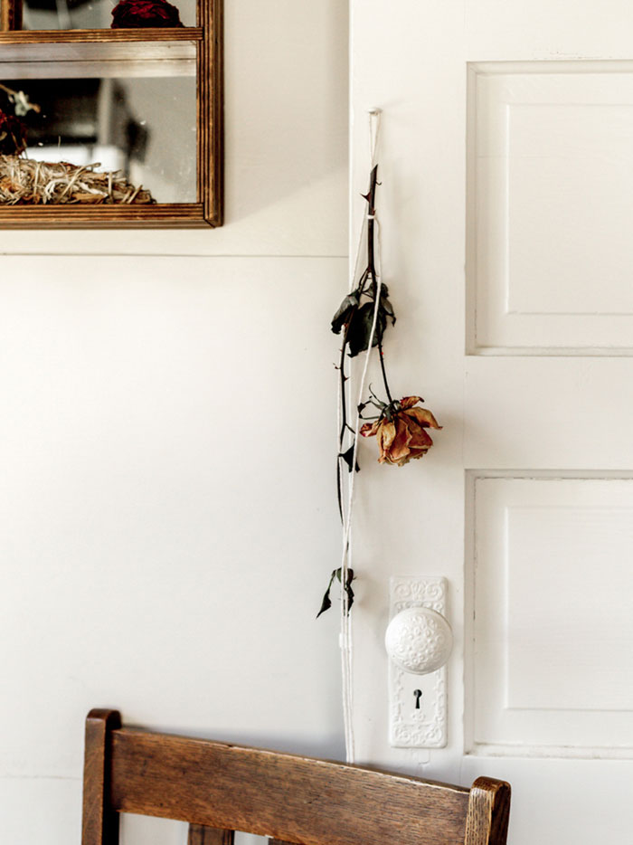 Dried Flowers Are Tucked All Over Sarah's Portland Home On Design*Sponge