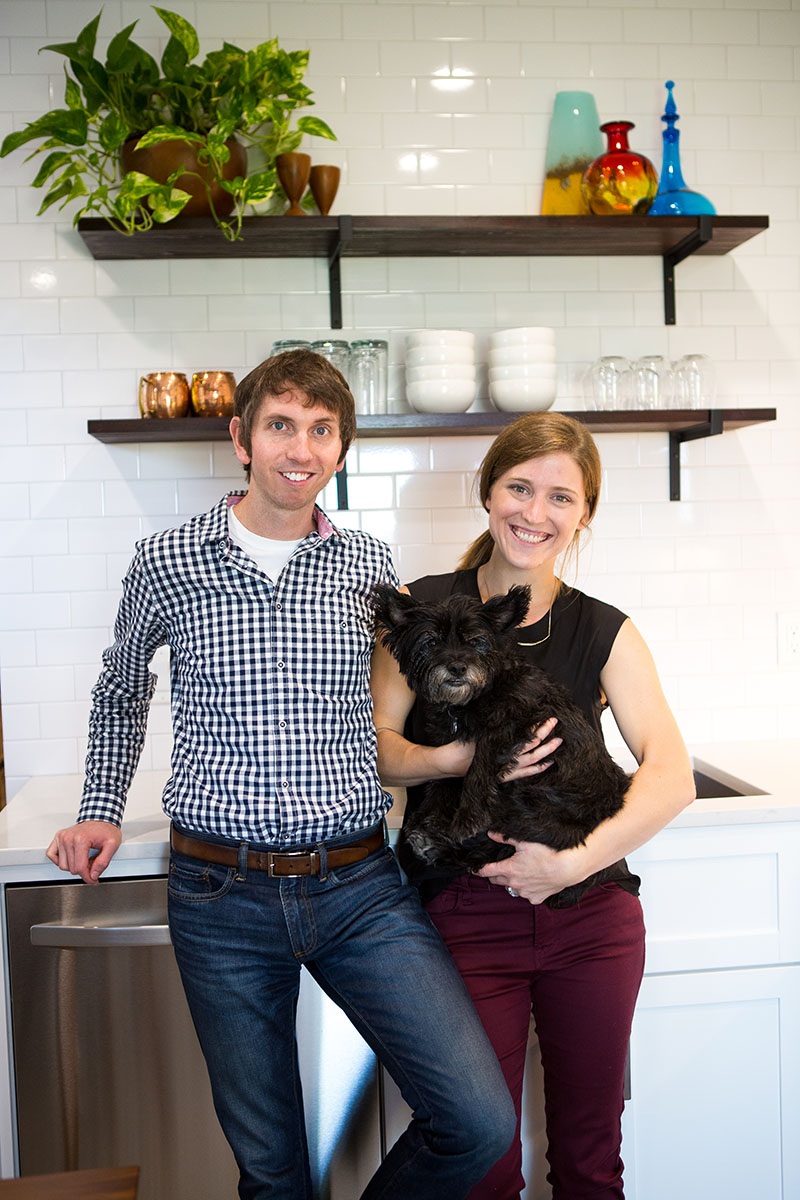 Stephanie Hayward and Brandon Pence's Home Tour on Design*Sponge