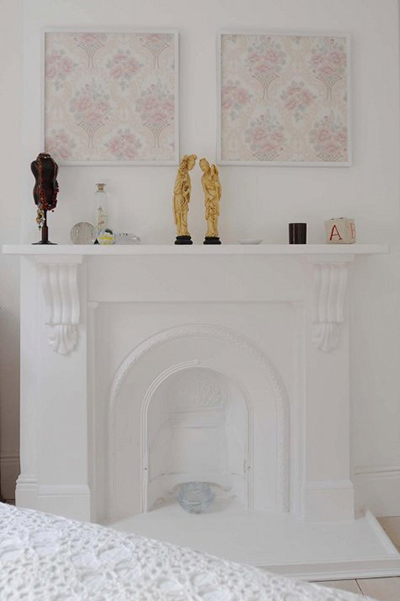 10 Creative Ways to Decorate Your Mantel on Design*Sponge