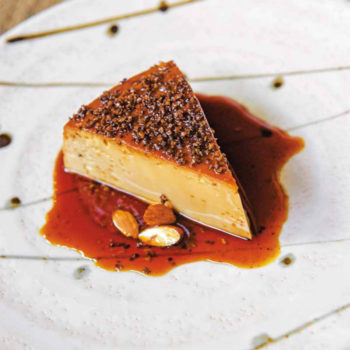 In the Kitchen With: Bren Herrera's Espresso and Almond Flan