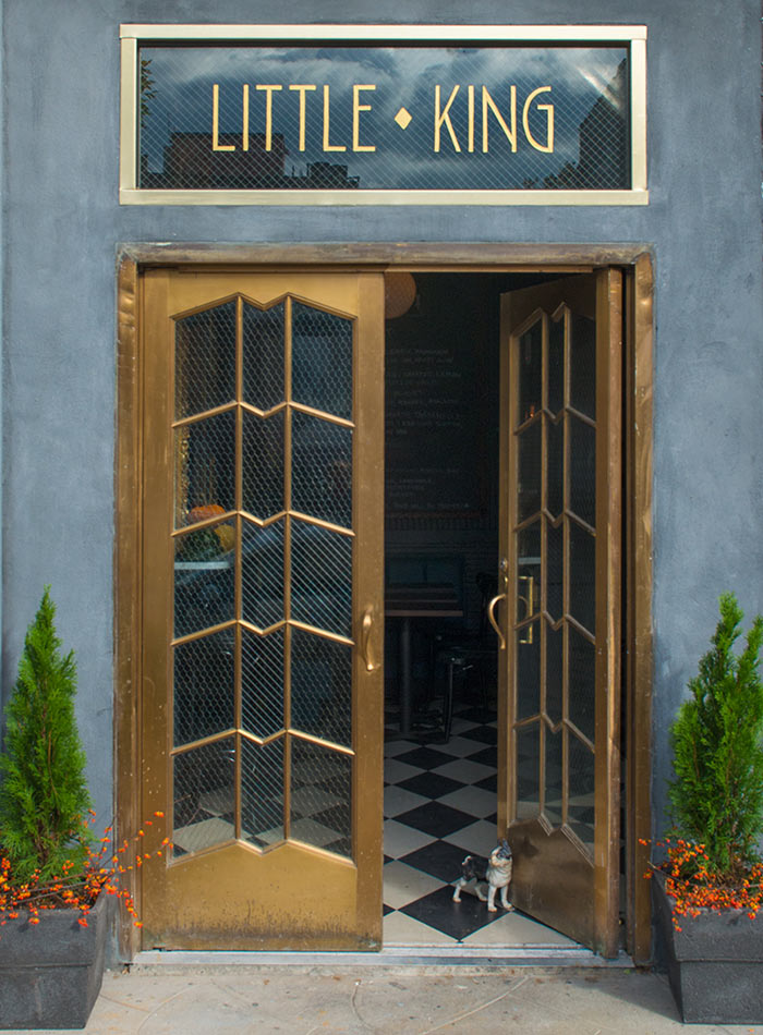 Little King: Where the Bar's Gilded, but the Vibe's Casual, Design*Sponge