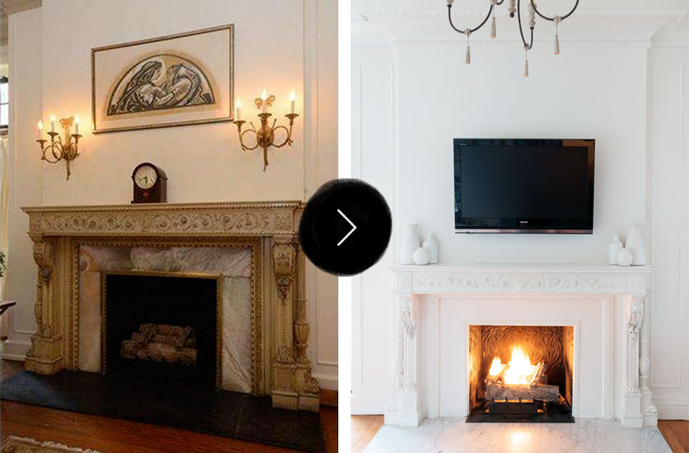 Famous Before & After: Gorgeous Fireplace Makeovers – Design*Sponge CF25