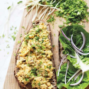 In the Kitchen With: Sarah Britton's Chickpea Curry Salad Sandwich