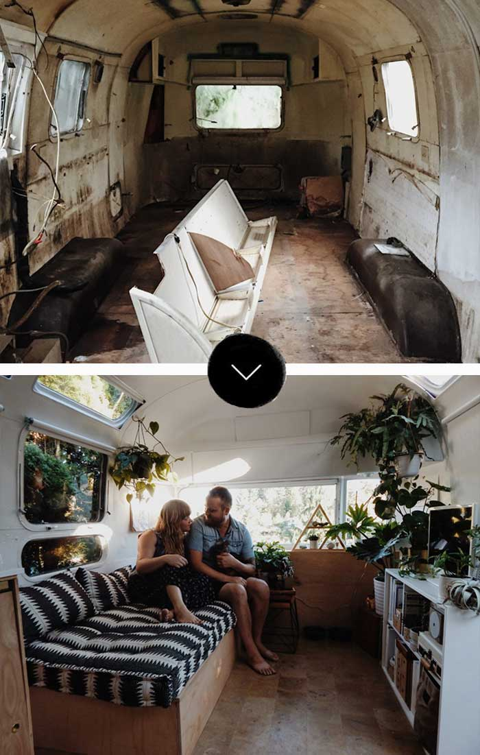 A Seattle Couple Finds Everything They Were Looking For In A Revamped Airstream On Design*Sponge