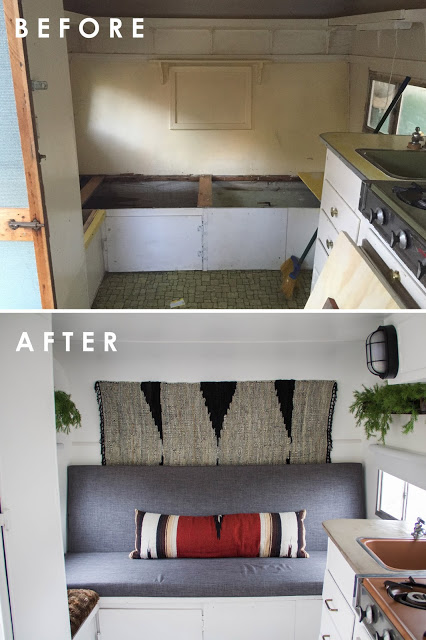 Custom Details In This Trailer Make It Feel Modern And Sleek On Design*Sponge