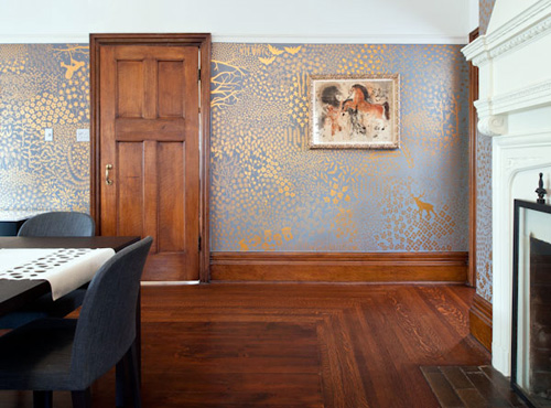 Hand-Painted Walls That Follow No Pattern And Never Repeat On Design*Sponge