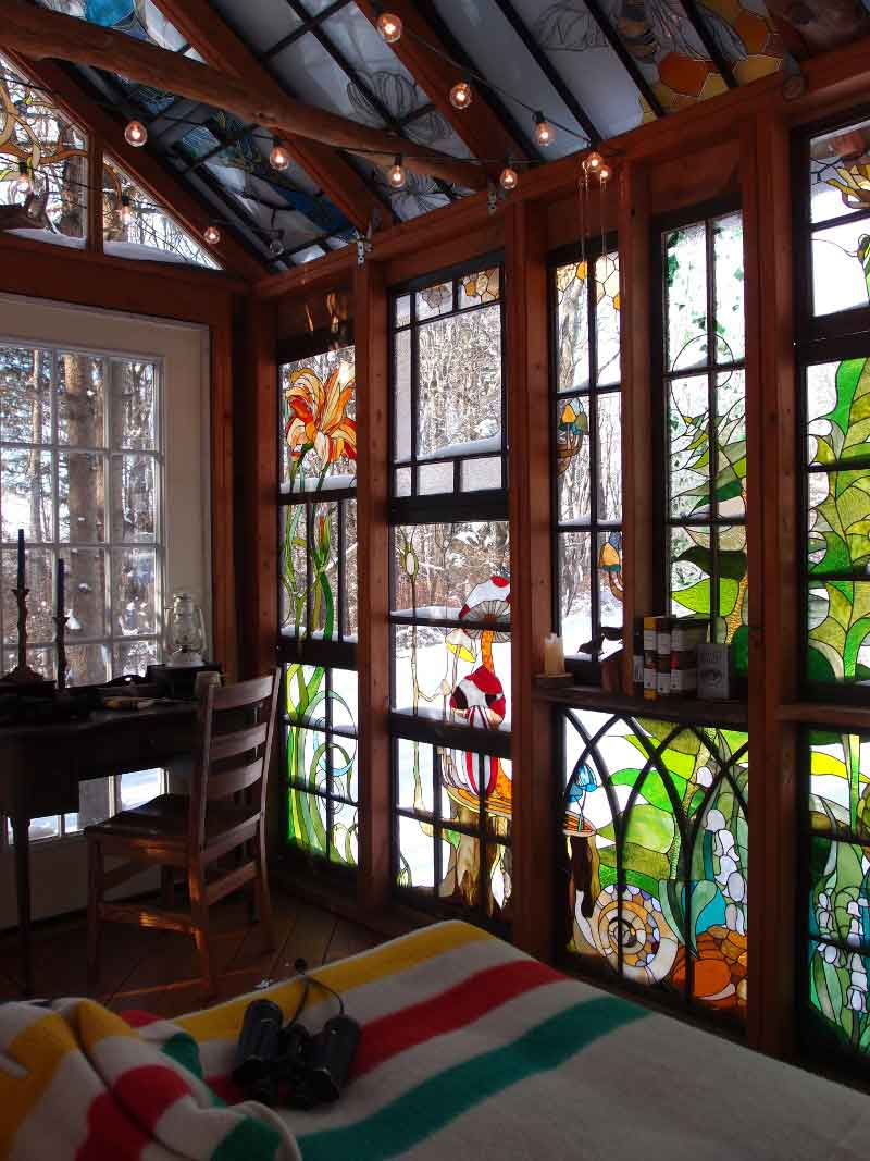 A Stained Glass Artist Creates A Mini Refuge Design Sponge