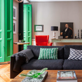 In Madrid, Gutsy Design Wakes Up a Century-Old Pied-à-Terre