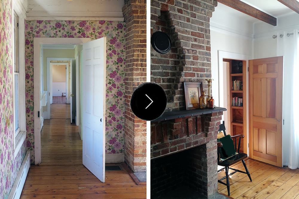 Before & After: A Hotelier's Century-Old Retreat, Design*Sponge