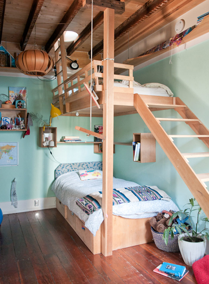 An Ode To Bunk Beds 10 Examples We Love Design Sponge