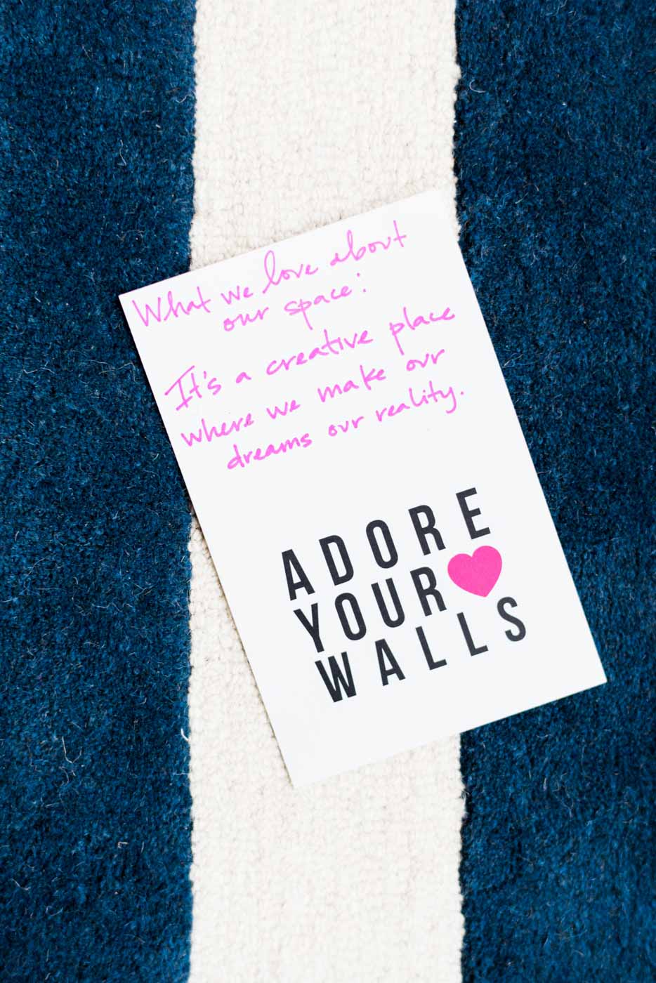 Studio Tour: Adore Your Walls | Design*Sponge