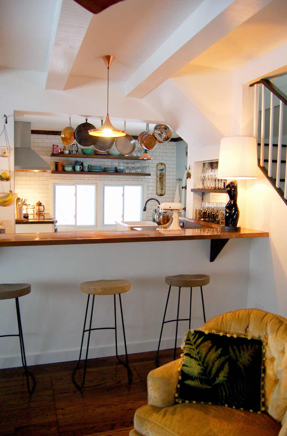 Before & After: An Old Stone Storybook House in Woodstock, on Design*Sponge