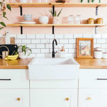 Before & After: A Toronto Rental's Peachy Kitchen Remodel