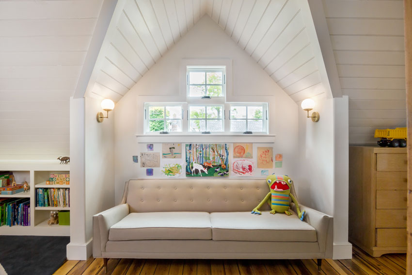 The Perfect Nook For Reading Stories In The Playloft Of This New York State Home On Design*Sponge