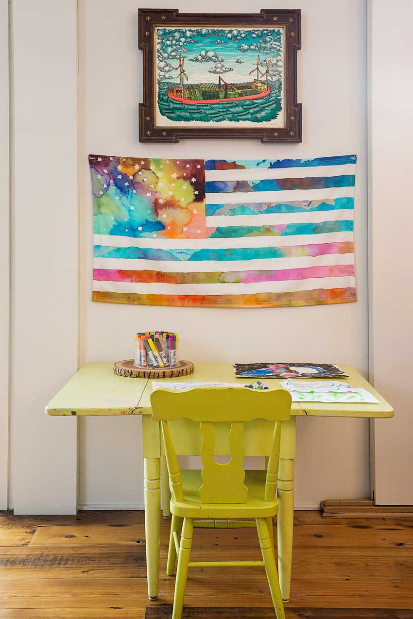 A Colorful Kids Corner In This New York Home On Design*Sponge