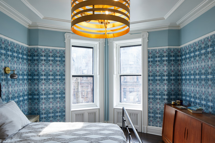 A Landmarked Park Slope Brownstone Awakens With Vibrant Color, on Design*Sponge