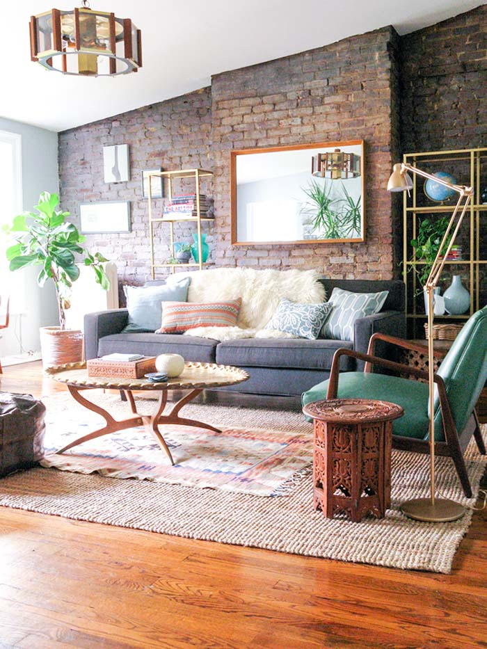 10 Rooms Where Exposed Brick Rules | Design*Sponge