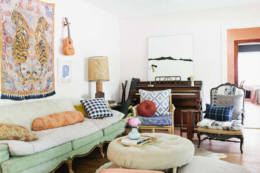 A Creative Texas Home with Soft Textures and Vintage Charm | Design*Sponge