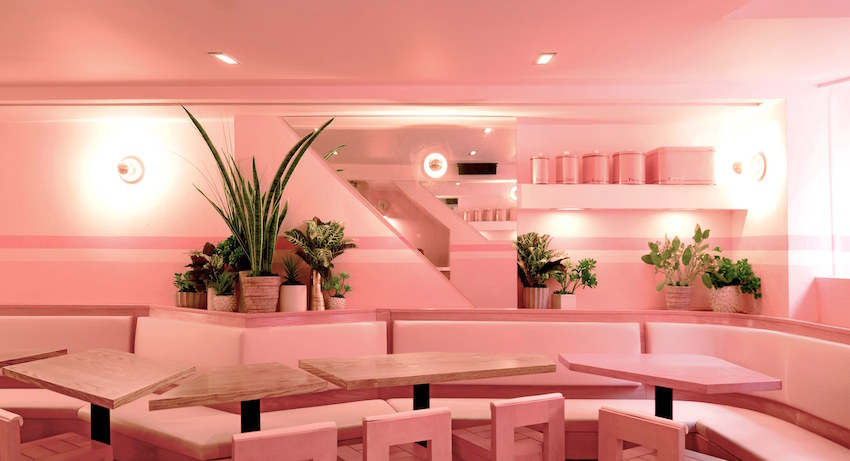 10 Amazing Pink Bars and Restaurants | Design*Sponge