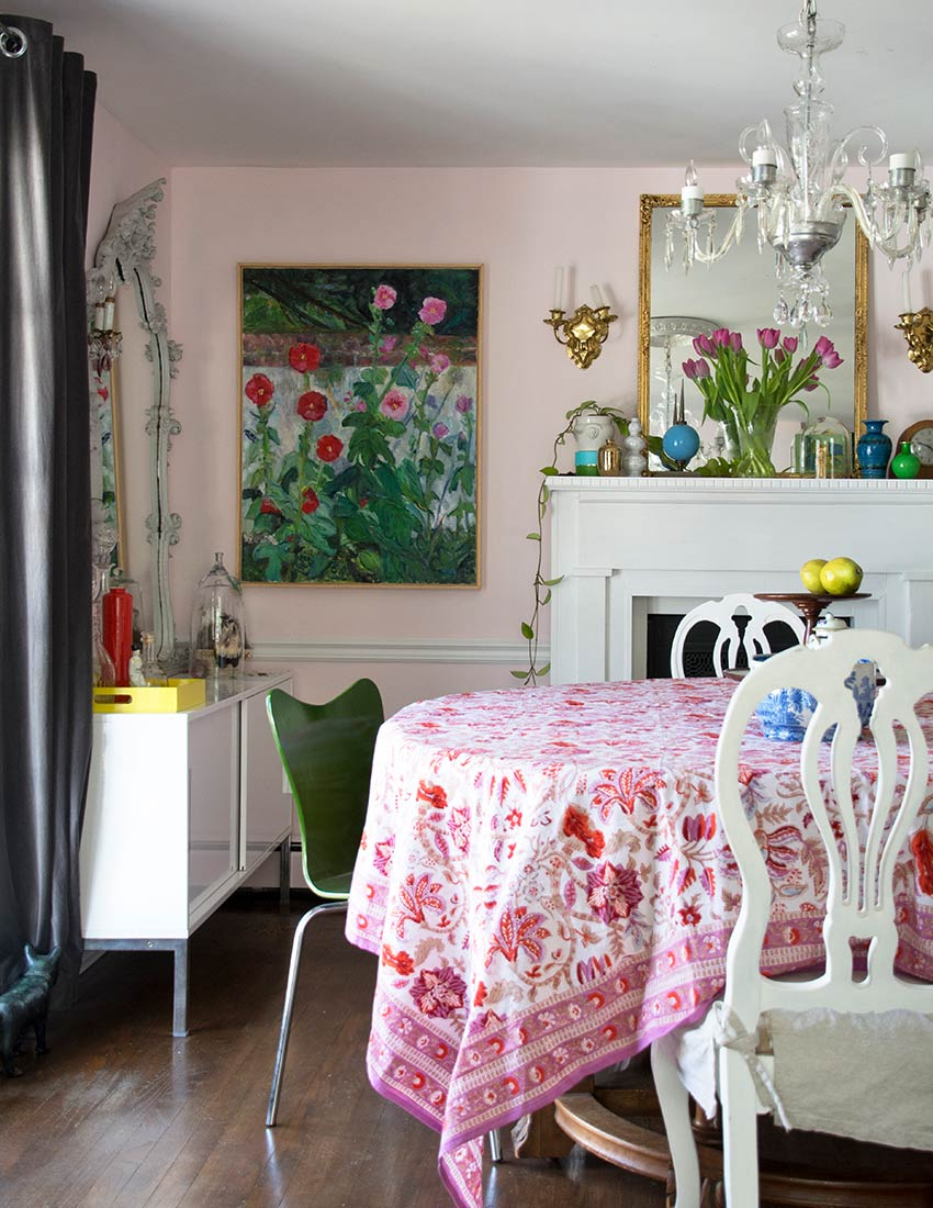 A Storied Nest Full of Pleasant Memories and Artwork, Design*Sponge