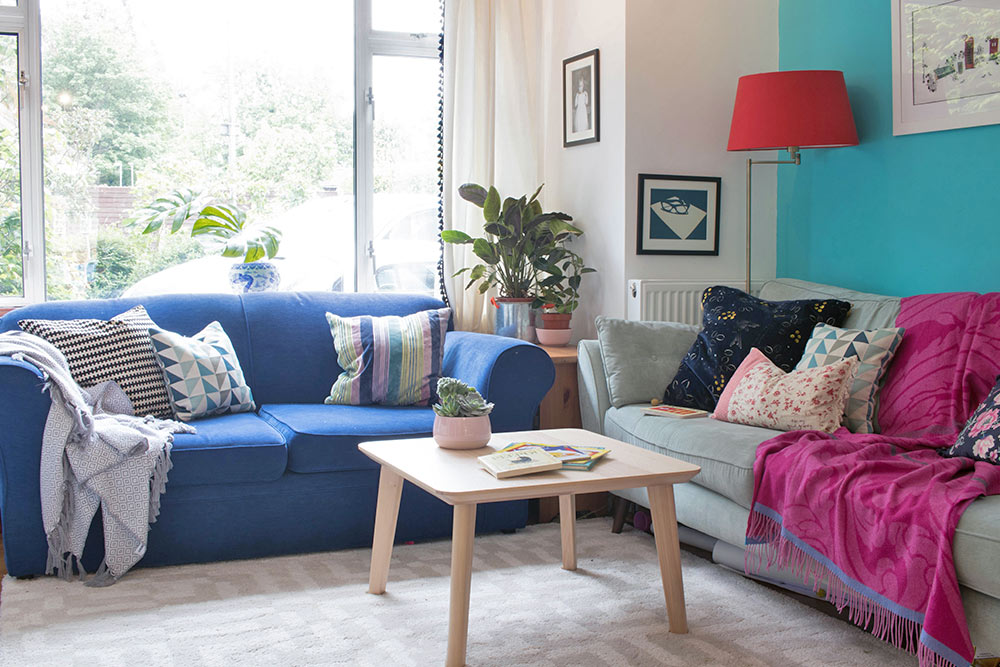 Painterly Touches Give a British Home a Boost, Design*Sponge