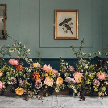 Spring Flowers by Swallows & Damsons