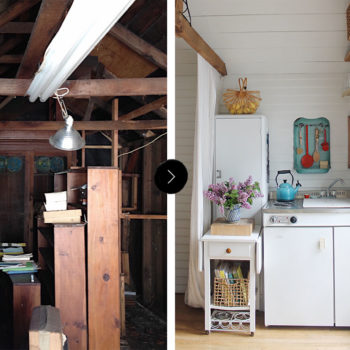 Before & After: A Garage Becomes A Home Closer To Grandma