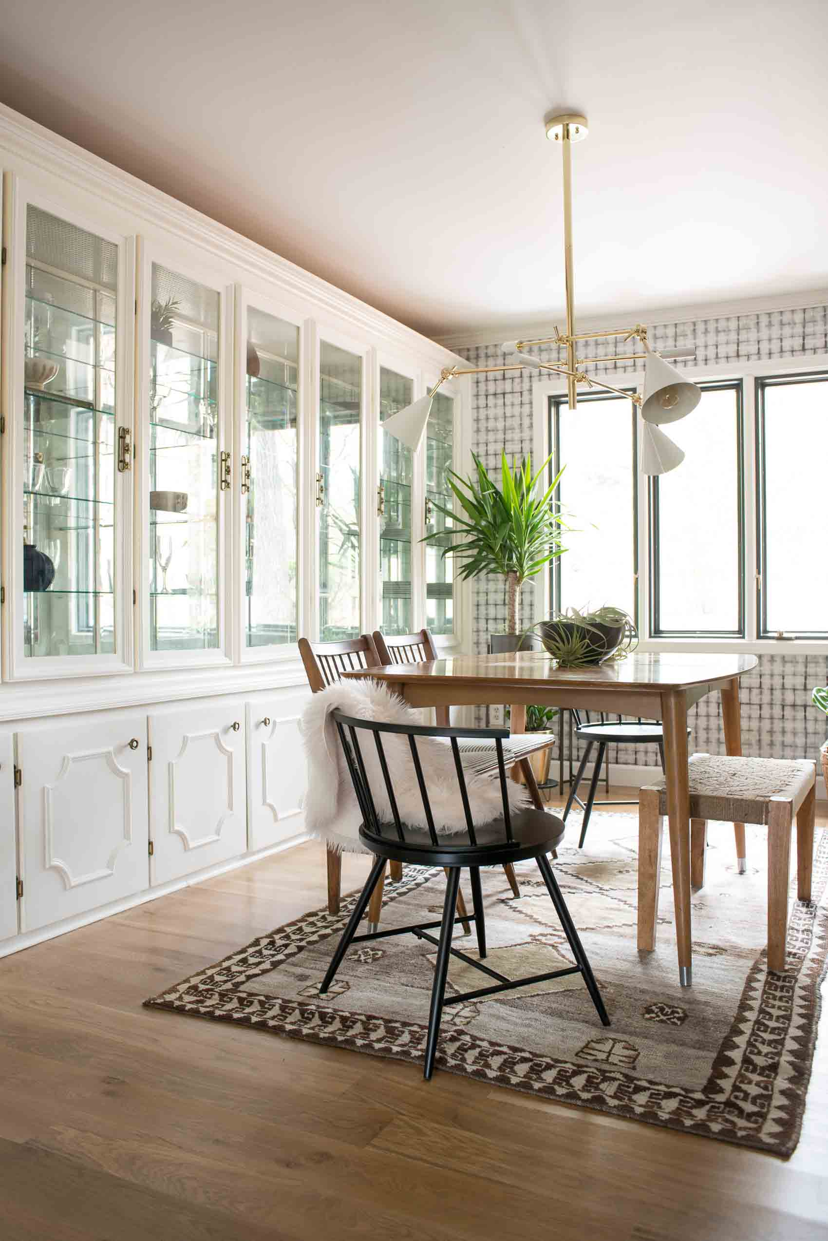 Before & After: A Budget Conscious Kitchen and Dining Room Makeover | Design*Sponge