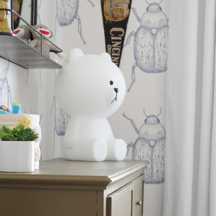 Before & After: A Nursery Inspired By Wallpaper