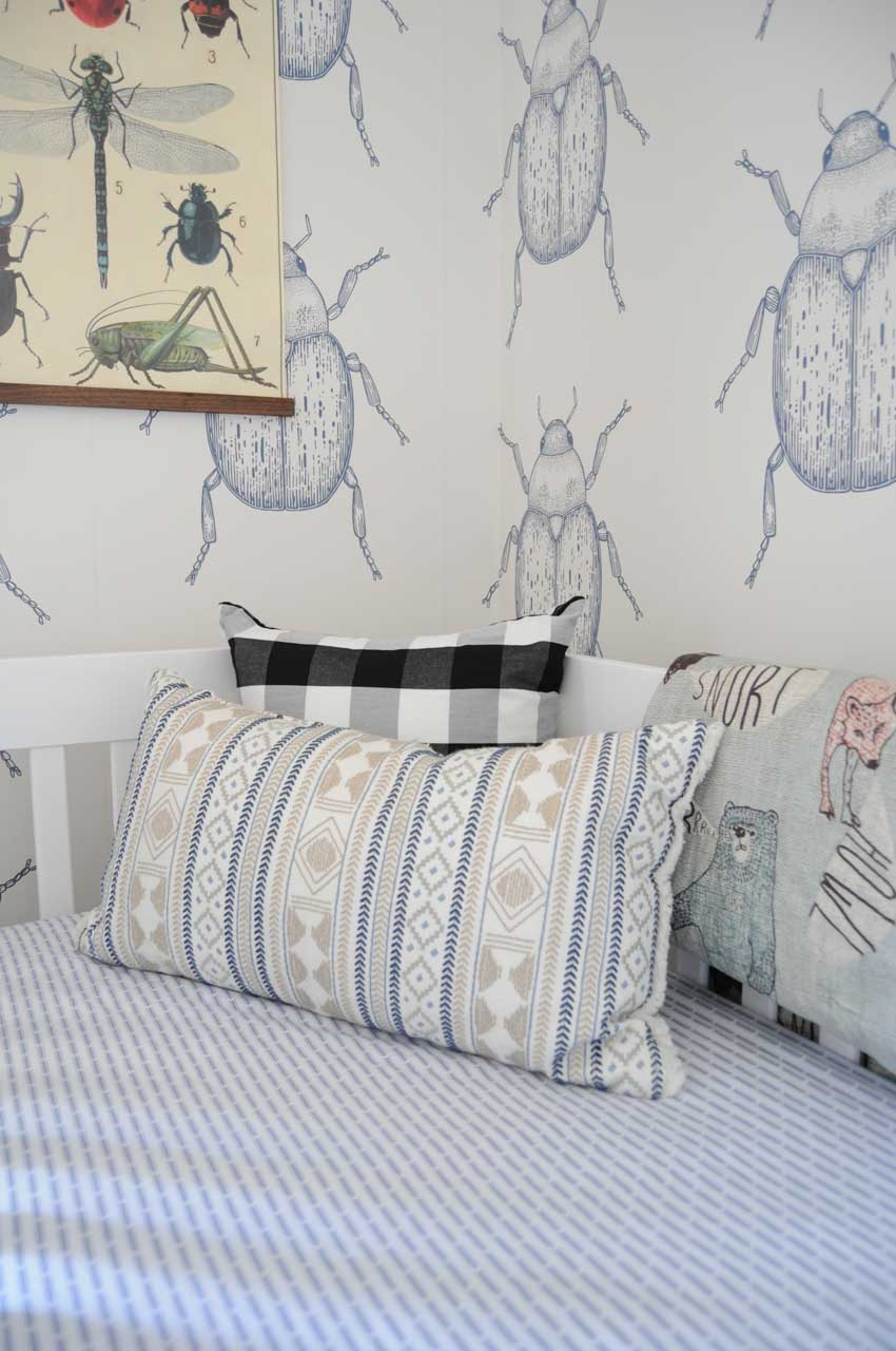 Layered Patterns Are Seen Through Otto's Bed On Design*Sponge
