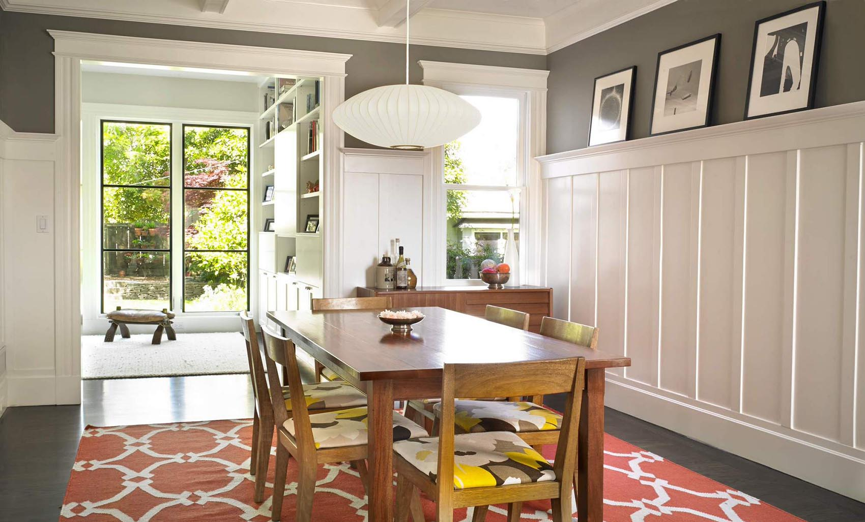 dining room wall pictures high definition pics | 16 Reasons to Love Painted Wainscoting – Design*Sponge