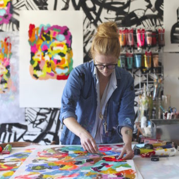 Studio Tour: Painter Frances Berry's Vivid Studio in Memphis, TN