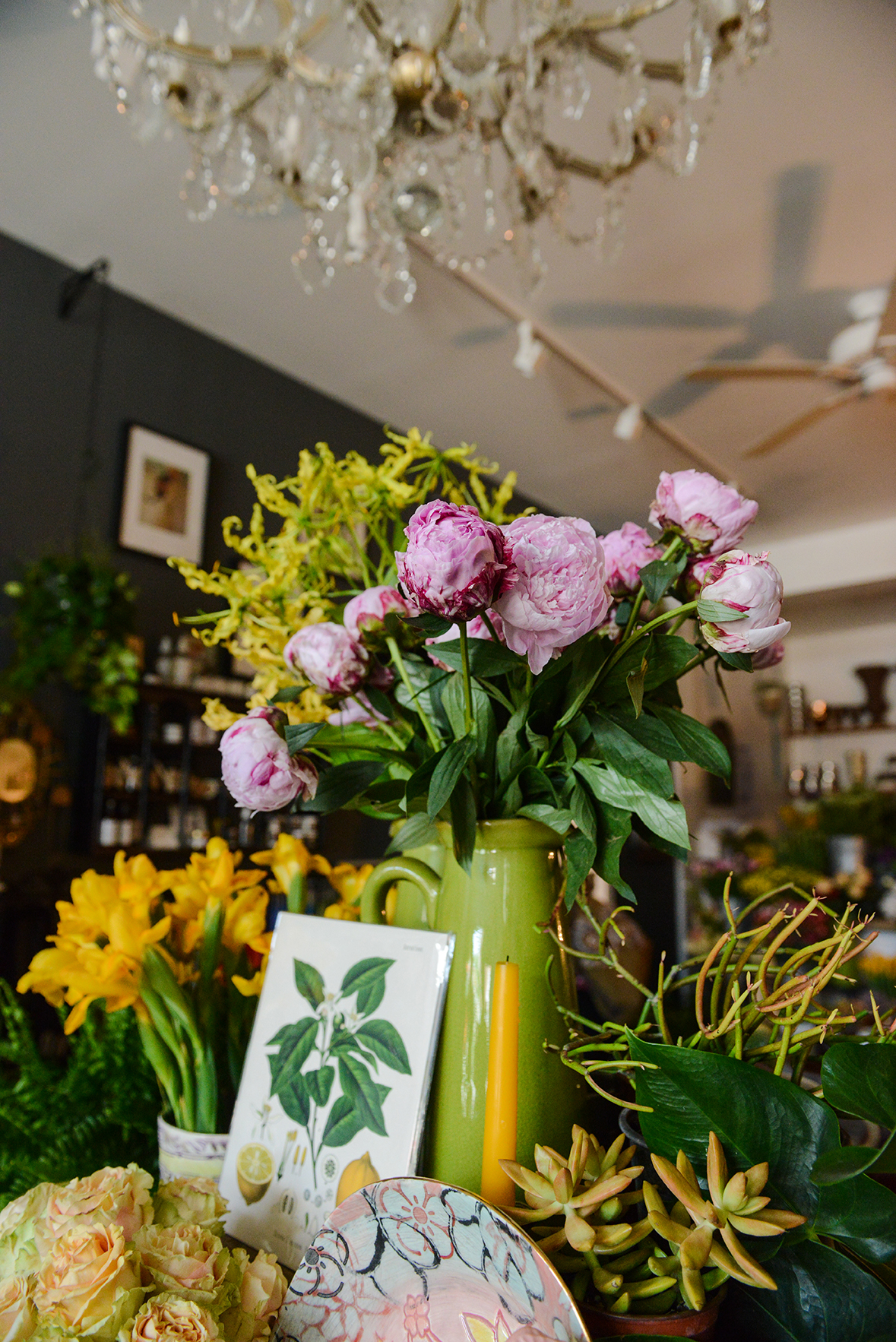 The Farmer's Daughter Flower Shop in Pittsburgh, PA via Design*Sponge