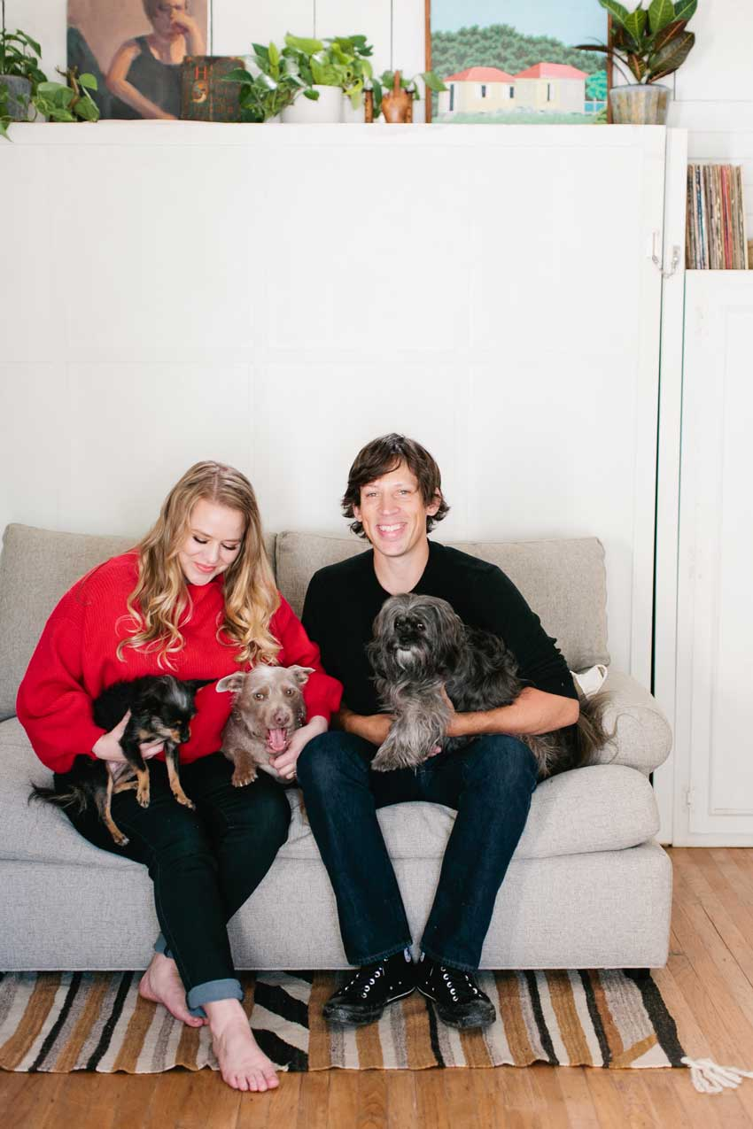 The Homeowners And Their Pets All At Home In Their Bitty Berkeley Bungalow