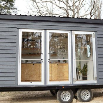 Before & After: A 120-Square-Foot Trailer Becomes A Tiny Shop