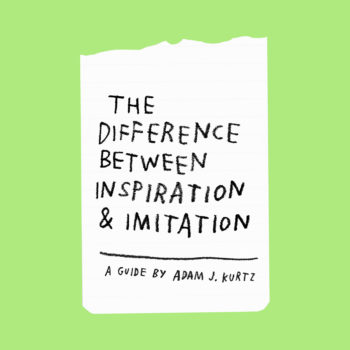 The Difference Between Inspiration & Imitation